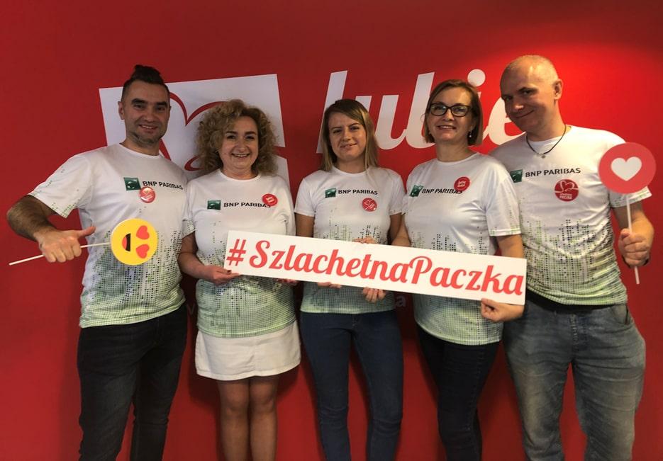 BNP Paribas pomaga ze Szlachetną Paczką!