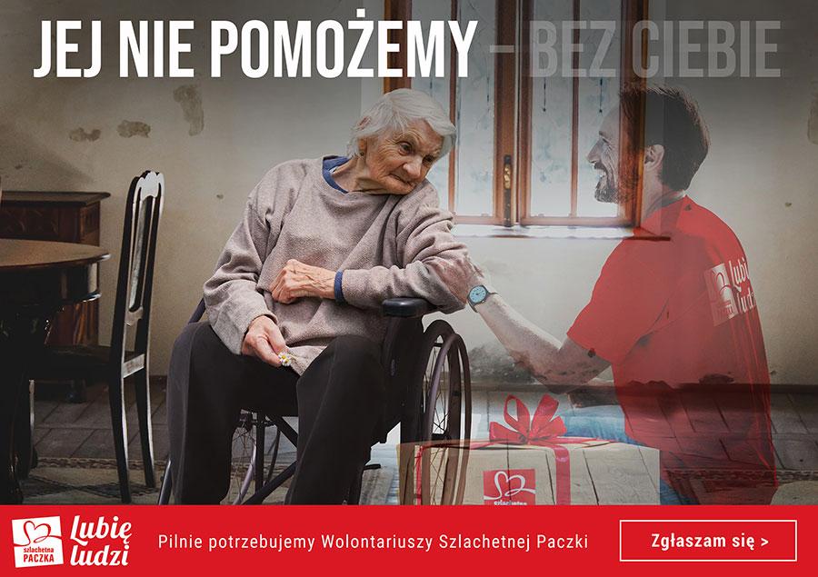 Szlachetna Paczka pilnie poszukuje wolontariuszy